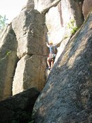 Rock Climbing Photo: Cathedral Ledge New Hampshire