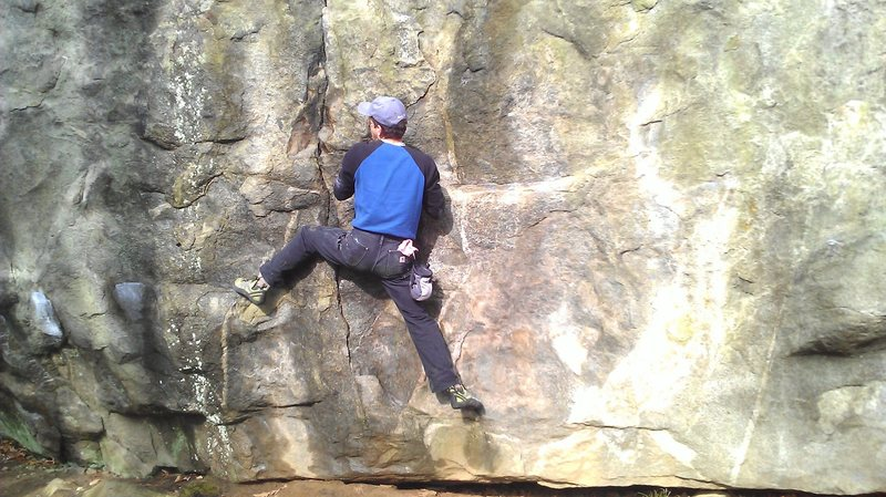 Rock Climbing Photo: Very pleasant climb with several worthwhile moves,...