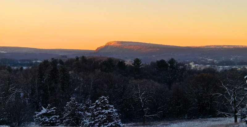 West Bluff at Dawn from Baraboo