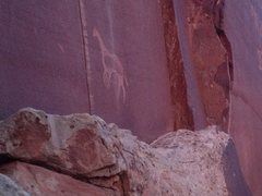 Rock Climbing Photo: glyphs..please respect