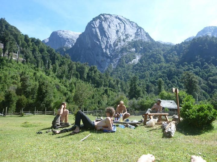 Rock Climbing Photo: enjoying post climb friends and food in La Junta- ...