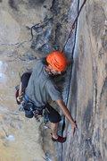"""Rock Climbing Photo: Kevin Pereira on Where Lizards Dare """"9+"""""""