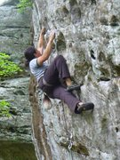 Rock Climbing Photo: Cowboys and Cross-dressers, way back in '10