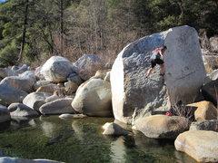 Rock Climbing Photo: Orange Blossom