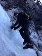 """Rock Climbing Photo: Donovan """"Dark Warrior"""" Allen, 15, explor..."""