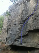 Rock Climbing Photo: Shallow v1/2