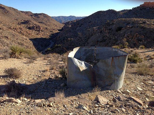Mining relics, Desert Queen Mine