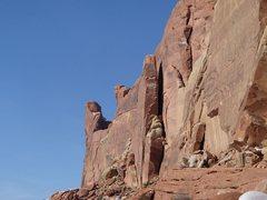 Rock Climbing Photo: Little Miss Sunshine
