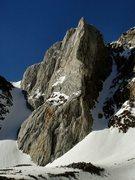 Rock Climbing Photo: Checkered Demon on the right, Kindergarten Gully o...