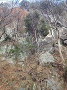 Rock Climbing Photo: Not the best overview photo but it gives you an id...
