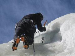 Rock Climbing Photo: Ken Trout screwing around.