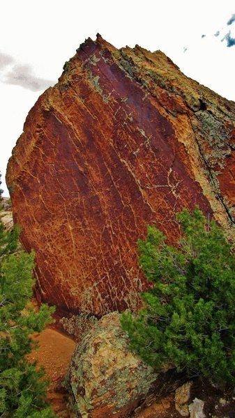 Royal Rock's gorgeous west face.