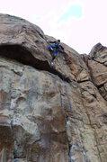 Rock Climbing Photo: Nearing the top of Deepwater Horizon.  Photo: Mazz...