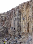 Rock Climbing Photo: The left side of East Quarry on a late December af...