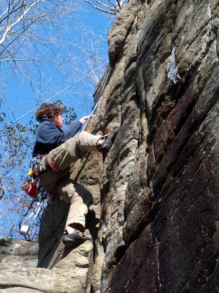 Me on a tr of Clark Bar Crack