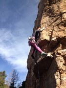 Rock Climbing Photo: Getting to the roof may be the crux if you're shor...