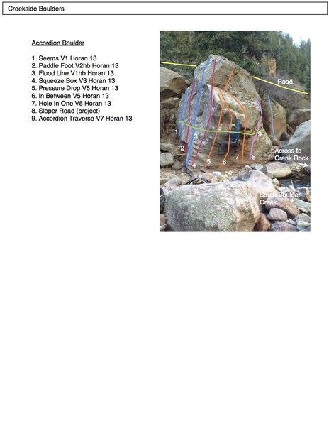 Rock Climbing Photo: The Accordion Boulder.