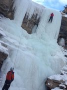 Rock Climbing Photo: 4/5 pitch on dead bolt Joes valley Dec 23