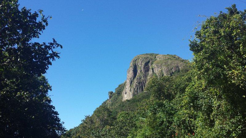 The right teta of Cerro Las Tetas