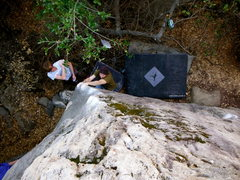 Rock Climbing Photo: Jon Hartmann on 'Mystical Weapons'