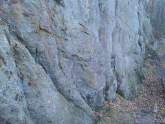 Rock Climbing Photo: Toxic Traverse.