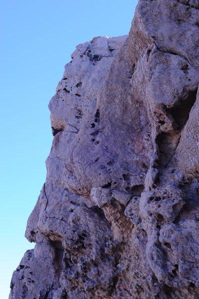 Rock Climbing Photo: Dave Quinn on Balrog, Hatta Crag, Oman