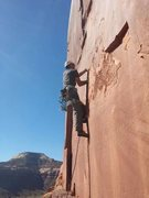 Rock Climbing Photo: Leading On the Up and Up