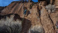 Rock Climbing Photo: Myself at Farewell.