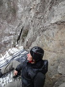 Rock Climbing Photo: COLD!