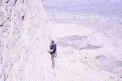 Rock Climbing Photo: Dave Quinn on Finger Food, Hatta, Oman