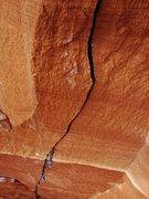 Rock Climbing Photo: Steep tips