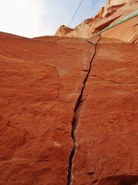 Rock Climbing Photo: Steep fingers