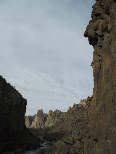 Measure for Madness, Shakespeare Wall, Lower Gorge, Smith Rock, OR