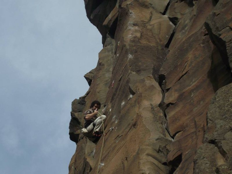 Measure For Madness, 5.11d, Shakespeare Wall, Lower Gorge, Smith Rock OR
