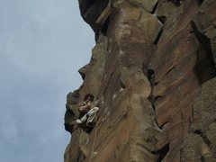 Rock Climbing Photo: Measure For Madness, 5.11d, Shakespeare Wall, Lowe...
