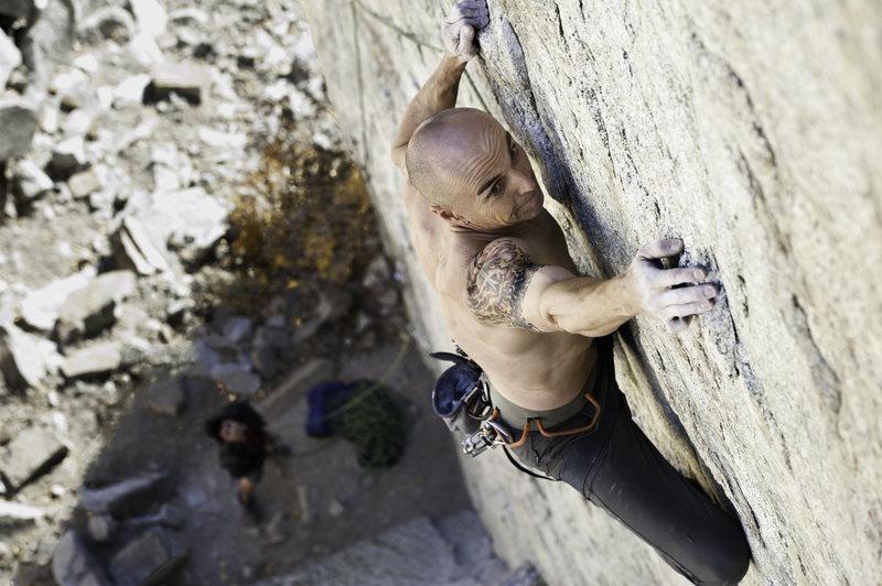 Rock Climbing Photo: All Chalk