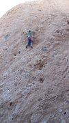 "Rock Climbing Photo: On ""Rise & Shine."""