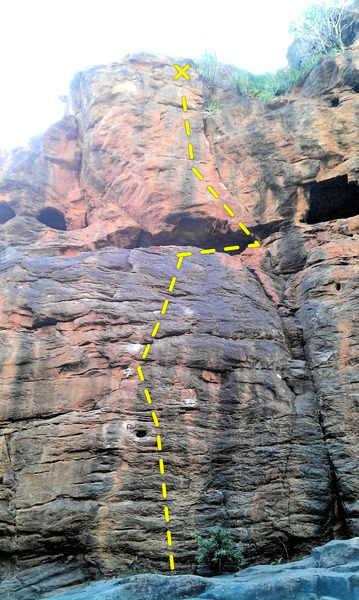 Rock Climbing Photo: La discoteque