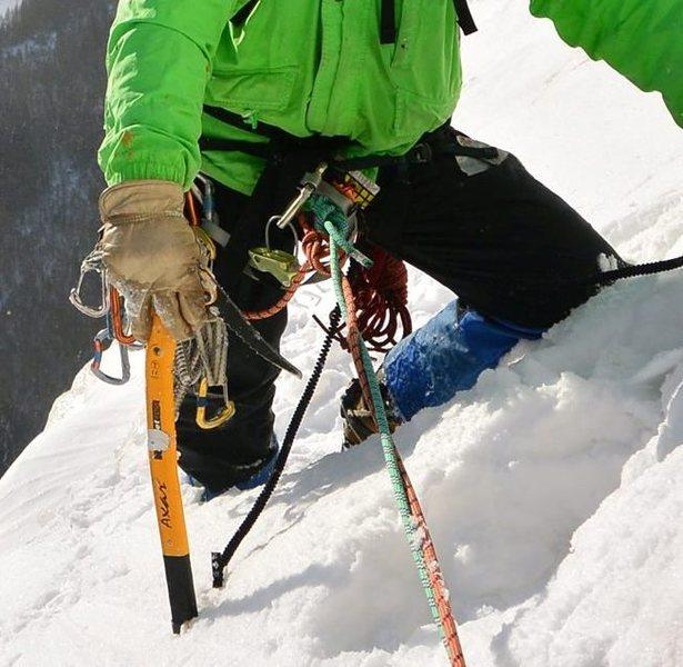 Rock Climbing Photo: at last pitch belay ledge