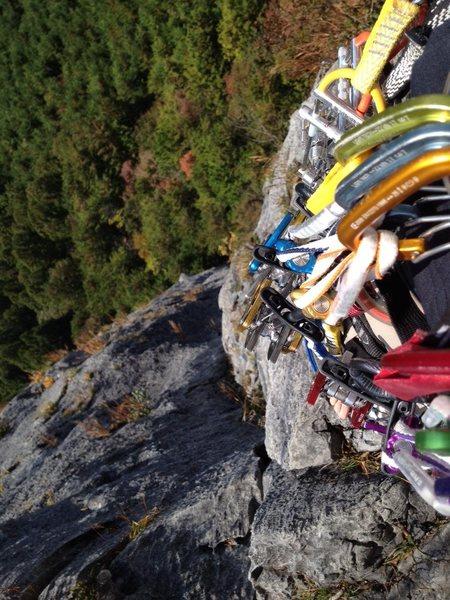 Rock Climbing Photo: Top of 3P