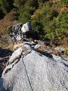 Rock Climbing Photo: 2P