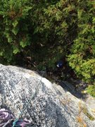 Rock Climbing Photo: View from the top.