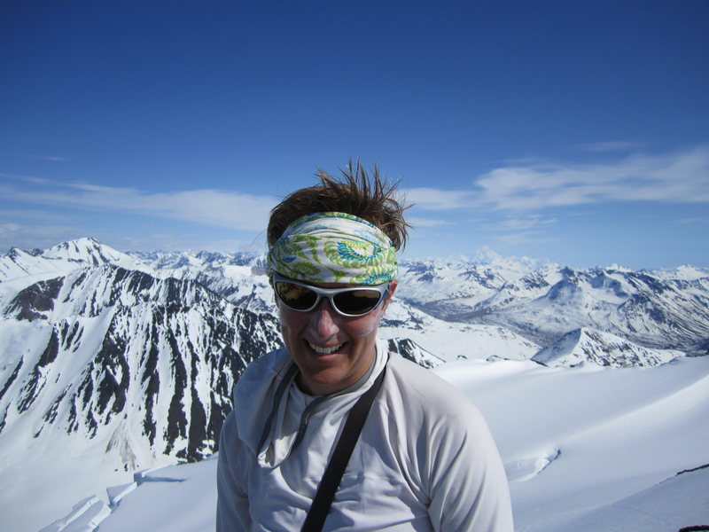 Summit of unnamed peak, St. Elias Range, AK