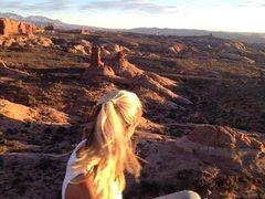 Rock Climbing Photo: Owl Rock Moab, Utah