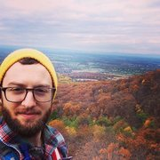 Rock Climbing Photo: Fall day overlooking Western MD,