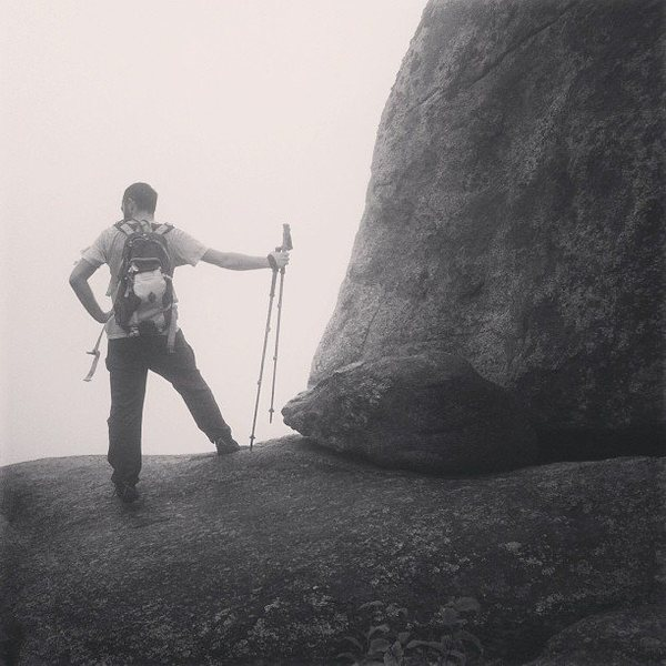 Rock Climbing Photo: Summit of Old Rag.