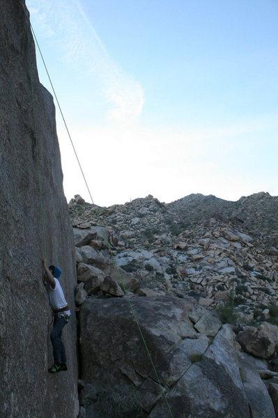Rock Climbing Photo: The invisible man