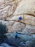 Rock Climbing Photo: Gamer Dave headed up on Thunderwood