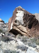 Rock Climbing Photo: really cool new boulder with many problems  on it....
