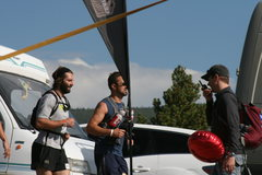 Rock Climbing Photo: not climbing but me and todd running the Leadville...